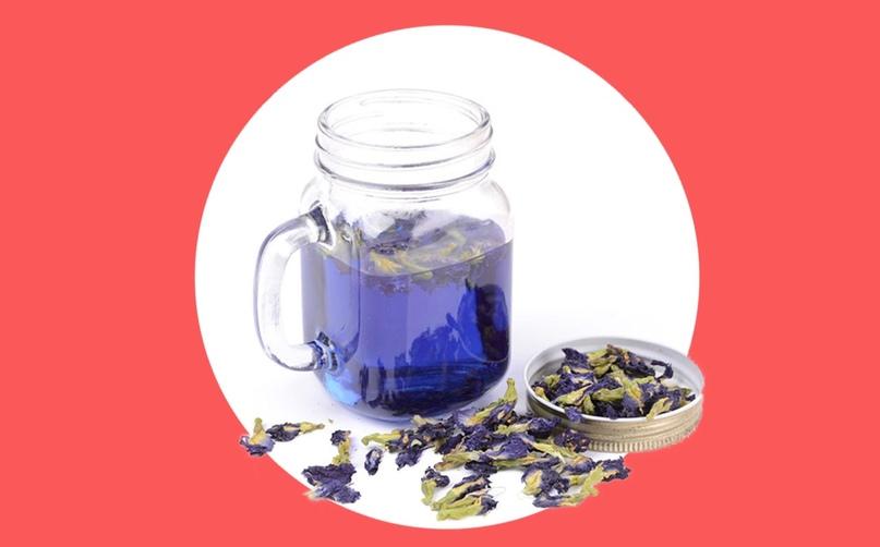 матча синий чай