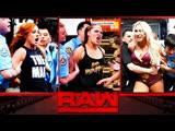 ро-04/01/19 | Бекки Линч Шарлотта Флэр и Ронда Роузи против Отряда Райотт