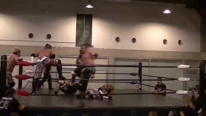Jun Kasai Masashi Takeda Minoru Fujita vs Daisuke Masaoka KAZMA SAKAMOTO Violento Jack FREEDOMS Kitakyushu
