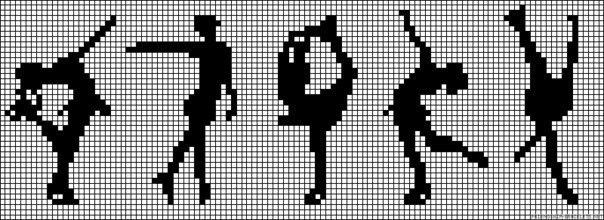Балерина схемы фенечек