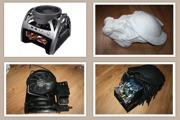 Корпус Antec Mini Skeleton-90.  Железо: мать: ASRock Z77e-itx  процессор: INTEL CORE I5-2300 с штатным охлаждением  память: Corsair DDR-3 1600-8Gb  видео: ASUS GeForce GT 610 2048Mb  винчестеры: Seagate Barracuda 2Tb  WD 2Tb  блок питания: Corsair CMPSU-600  Габаритные размеры: 300х440х290 мм