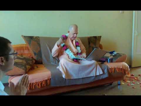 BVV Narasimha Swami, SB 6.3.12 Blagoveshchensk, 31.07.2018 (Eng-Rus)