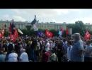 1_Митинг 28-07-2018 на пл. Ленина в С-Петербурге
