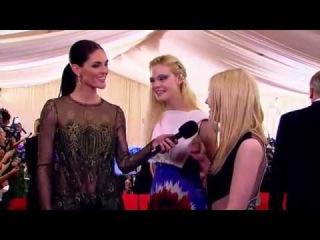 Dakota Fanning Met Ball 2013 - Red Carpet 6th May 2013