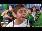 Ребята из Института Неймара, смотрели матч, Бразилии с Коста-Рикой
