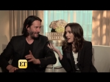 Winona Ryder and Keanu Reeves Reveal Their Healthy Crushes on Each Other (Excl