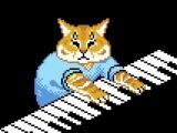 Keyboard cat - Fall Out Boy (8-bit)