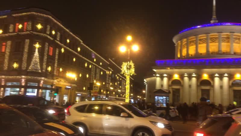 27 января 2018г., Санкт-Петербург, Невский, Одесса, шаланды полные, и где-то рядом Петро-Славянка :-)
