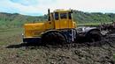 К-700, К-701 Кировцы погрязшие в грязи! Большим тракторам большое бездорожье! Подборка