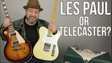 Telescaster vs Les Paul - Which One Are You - MartyMusic Gear Thursday