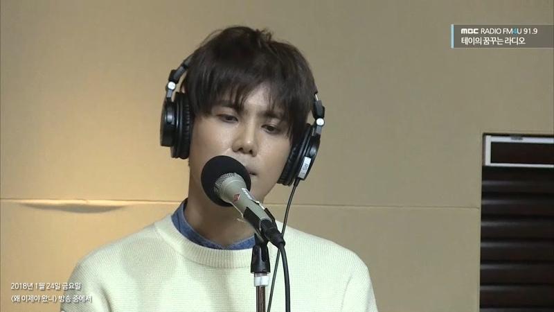 [테이의 꿈꾸는 라디오] KIM KYU JONG - Melt,김규종 - 녹는중20180124