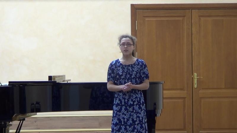 Вокальный конкурс среди хоровых отделений муз. школ. Февраль 2018.