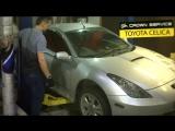 ?Toyota Celica: Замена передних тормозных колодок;