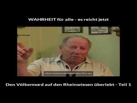Den Völkermord auf den Rheinwiesen überlebt - Teil 1
