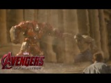 AVENGERS : Age Of Ultron - 90 sec. clip Hulkbuster vs Hulk