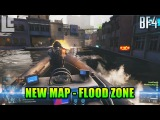New Map: Flood Zone Exclusive Footage! Naval Urban Combat (Battlefield 4 Beta Gameplay/Commentary)