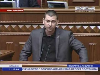 Ю.Михальчишин рве регіоналів і комуністів