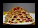 Сметанный Торт с Вишней Монастырская Изба  Cake with Cherry