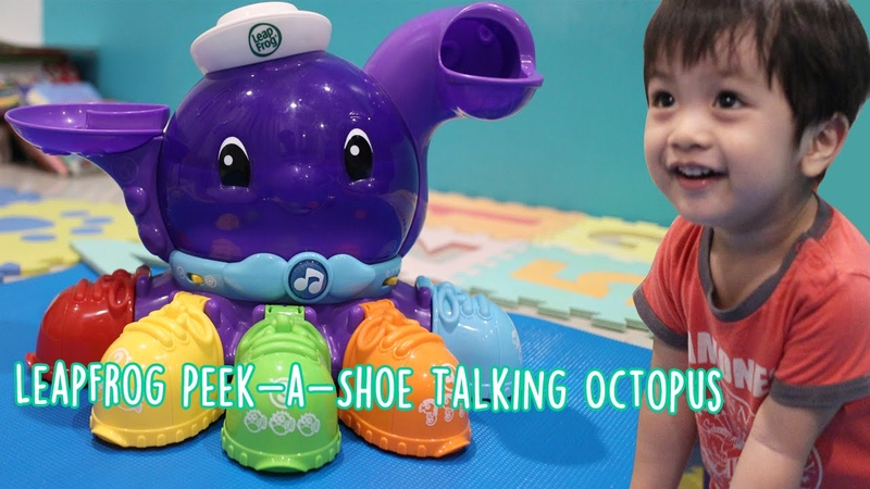 LeapFrog Peek-a-Shoe Talking Octopus - Happy Playroom