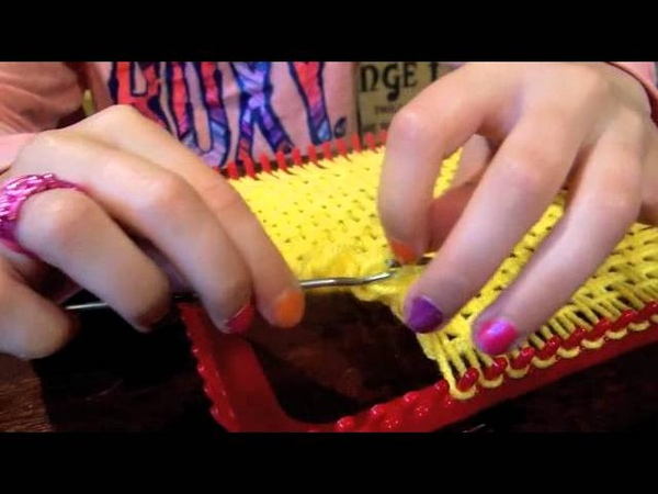 How To Weave On A Square Loom With Yarn