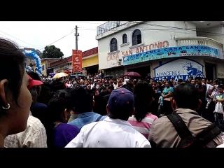 Ambiente del desfile cívico en Cojutepeque xD