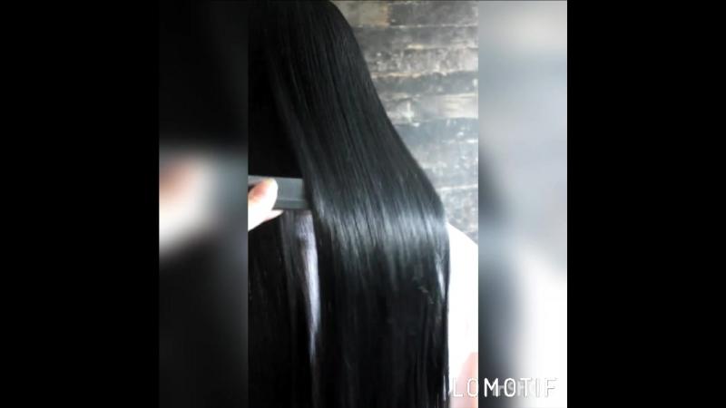 Биксипластия на нарощенные волосы 💖