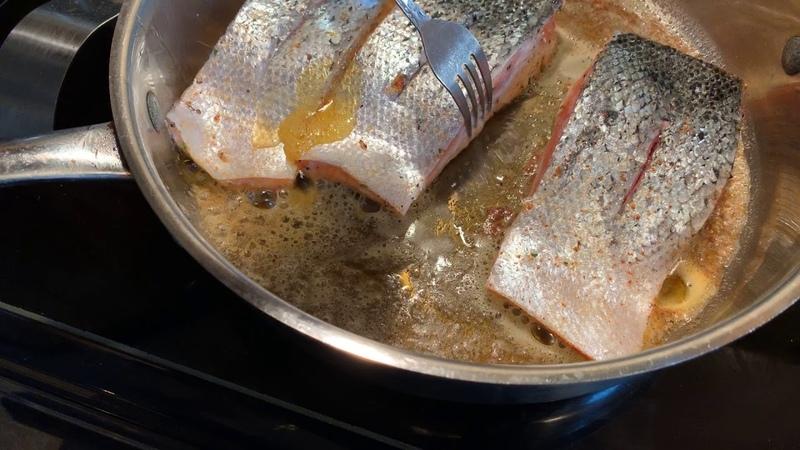 How to make Orange marmalade Glazed salmon