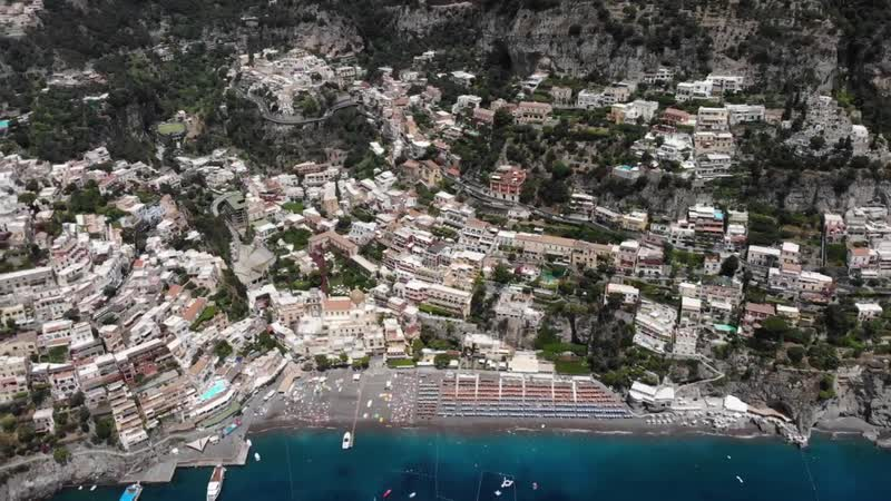 Positano Costa Amalfi 2018, Costiera Amalfitana, Amalfi Coast Italy - 4K drone footage, DJI Mavic