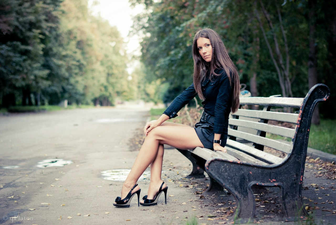 Фото девушек в парке 11 фотография
