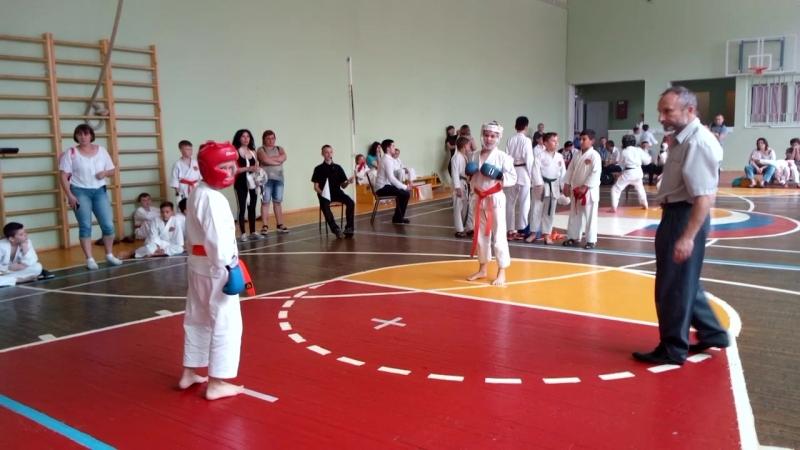 Открытый турнир Ценра Воинского Искусства Берсерк по каратэ Шотокан
