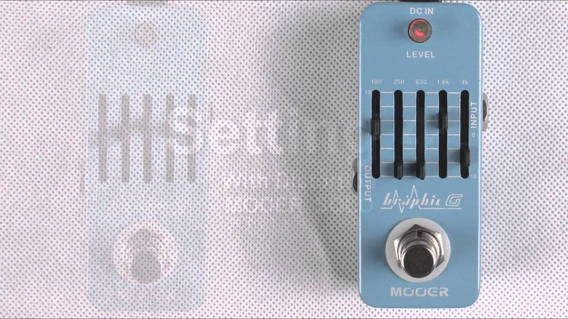 Mooer Graphic G 5-Band Guitar Equalizer micro compact pedal
