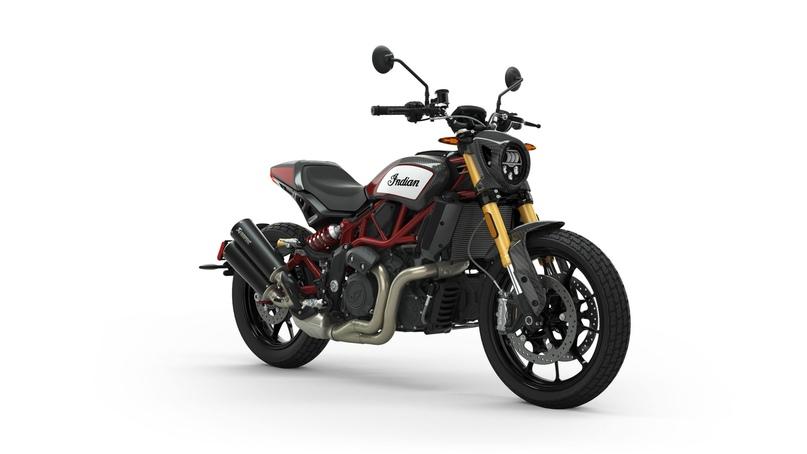 Новый мотоцикл Indian FTR Carbon 2020 (большой фотосет)