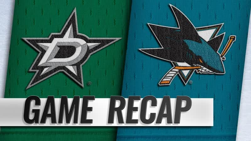 НХЛ - регулярный чемпионат. «Сан-Хосе Шаркс» - «Даллас Старз» - 3:2 (0:0, 1:1, 2:1)