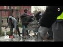 Migrants un nouveau campement sest installé Porte de la Vil-1