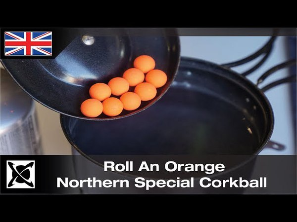 ***Carp Fishing*** Roll Northern Special Orange Corkballs