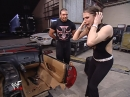 WWF Smack Down 7th March 2002 - Triple H gives Stephanie McMahon keys to her car