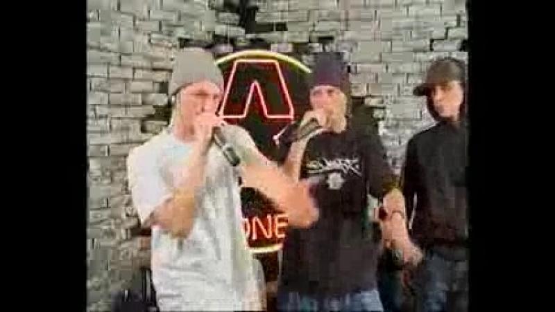 2008 - Гек x Leo Dee x Компакто - live (A1TV, Москва)