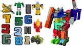 Трансботы Боевой Расчет - Цифры Трансформеры Transbot роботы тоботы игрушки машинки #MrGeor