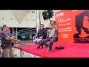 ✩ Пресс-конференция 3 Создатели фильма Игла Рашид Нугманов и Бахыт Килибаев