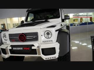 White CLA B20 Brabus G700 6X6 Mercedes Benz G63 AMG 6X6 Walkaround