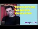 স্পোকেন গ্রামার Spoken Grammar Day 19 Had in negative