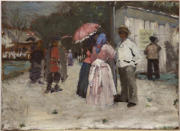 Нилус Петр Александрович ( 20 февраля 1869-1943) живописец, художественный критик, писатель. Внук генерала, участника войны 1812 года, Петр Александрович Нилус был известным художником, особенно