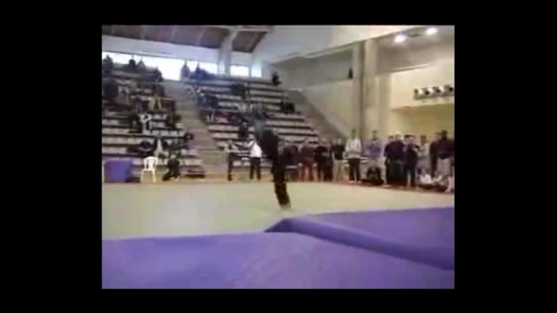 Техника высоких ударов ногами в Таеквондо