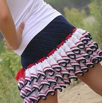 Вяжем юбочку для девочки