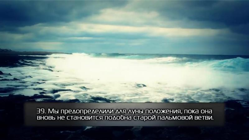 Красивое чтение суры 36 «Ясин». Якуб Насим. [HD].mp4