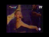 Madonna - Vogue (live) (MTV Morning Mix 1996) + VJ Maria G