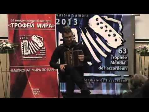 Alessandro Gaudio - World Champion of Diatonic Accordion
