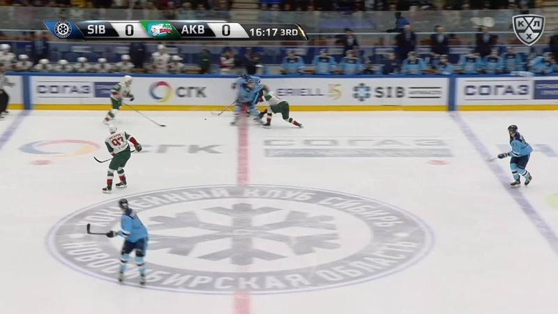 Моменты из матчей КХЛ сезона 17 18 • Сибирь Ак Барс