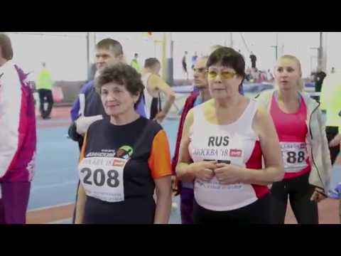 Матч четырёх. Легкоатлетические соревнования. Москва. 23 декабря 2018. - нарезка