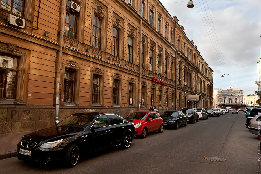 Караванная улица Санкт-Петербург экскурсия